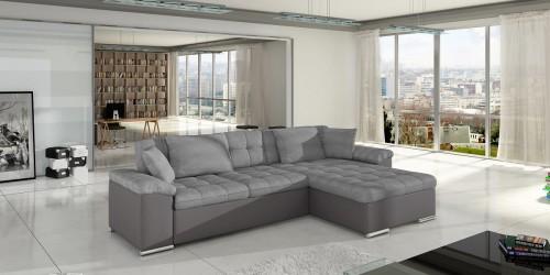 Moderno Nordic City, smart sofa og sovesofa i grå